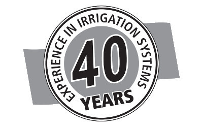 Rotrix Africa Irrigation Systems 40 Years Logo